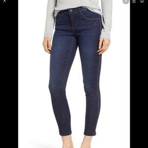 Side detail jeans